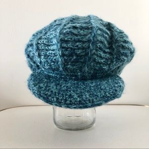 2 for$25 New 90s vintage chunky yarn wide brim hat